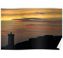 Le Conquet - Kermorvan lighthouse. Poster