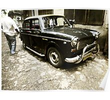 Indian cab Poster