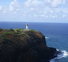 Lighthouse on the Cliff by Davepollack