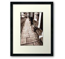 Bridlington old town. Framed Print