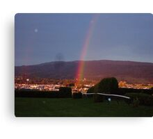 greenbelt rainbow :D Canvas Print