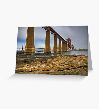 This Bridge Rocks Greeting Card