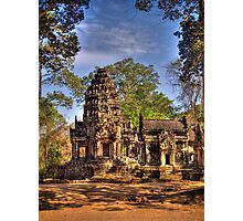 Temple ruins from Siem Reap Photographic Print