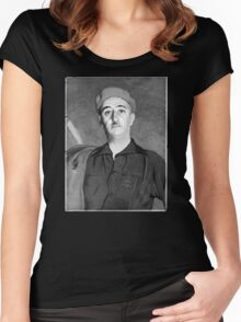 Francisco Franco, Spain, 1940 Women's Fitted Scoop T-Shirt
