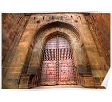 Shaniwar Wada - Famous Fort In Pune, India Poster