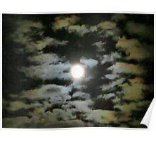 moon-at-night Poster