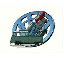 Transporters Art Print