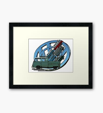 Transporters Framed Print