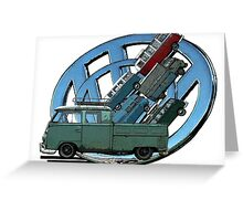 Transporters Greeting Card