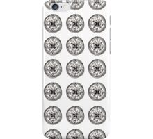 Black & White Coins iPhone Case/Skin