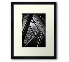 From KL Tower Framed Print