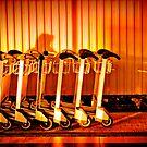 Trolleys by Laurent Hunziker