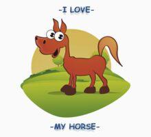 I Love My Horse by TeesandTops