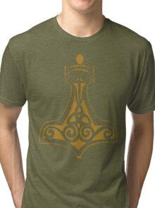 Thor's Hammer (Mjolnir) Tri-blend T-Shirt