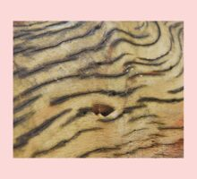 Wood Texture - Natural Background of Grain One Piece - Short Sleeve