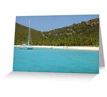 British Virgin Islands Greeting Card