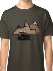 Jeeping It!: BROWN Classic T-Shirt