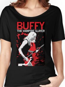 Buffy Rocks Women's Relaxed Fit T-Shirt