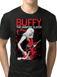 Buffy Rocks Tri-blend T-Shirt