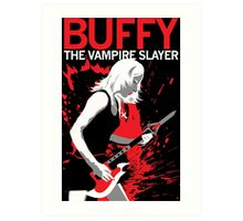 Buffy Rocks Art Print