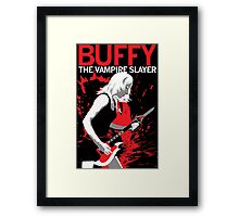 Buffy Rocks Framed Print