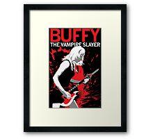Buffy Rocks Framed Print