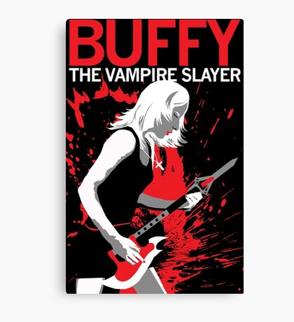 Buffy Rocks Canvas Print