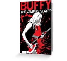 Buffy Rocks Greeting Card