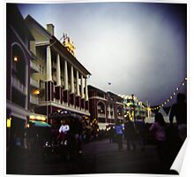The Happiest Place On Earth-The Disney Boardwalk Poster
