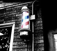 Barbershop in Little Italy  by Rachel Counts