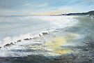 Winter Sandsend by Sue Nichol