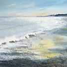 Winter Sandsend by Sue Nichol