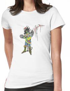 Fallen Angel Cop Womens Fitted T-Shirt