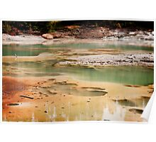 Yellowstone Geysers 3 Poster