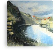 Tranquil Staithes Canvas Print