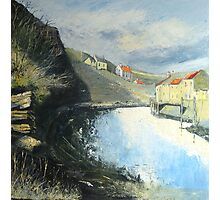 Tranquil Staithes Photographic Print