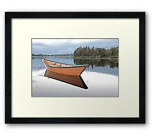 Silent Stillness Framed Print