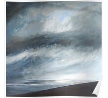 Storm Approaching, Cornwall Poster
