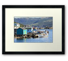 Stages Of Fleur De Lys  Harbor Framed Print