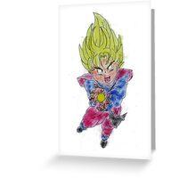 Super Saiyajin - Dragonball Z Greeting Card