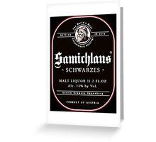 Samichlaus Beer Greeting Card