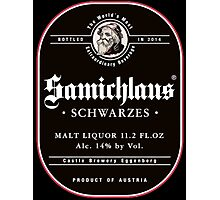 Samichlaus Beer Photographic Print