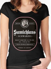 Samichlaus Beer Women's Fitted Scoop T-Shirt
