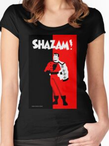 SHAZAM! Women's Fitted Scoop T-Shirt