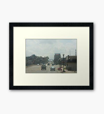Dixon, IL Framed Print