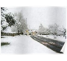 Winter in Great Preston Poster