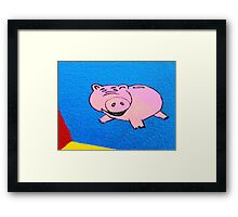 and the supporting cast .........PIG Framed Print
