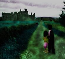 Middleham Castle by Jules Osmany