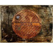 The Sewer On Sunday  Photographic Print