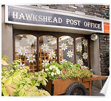 Hawkshead Post Office  Poster
